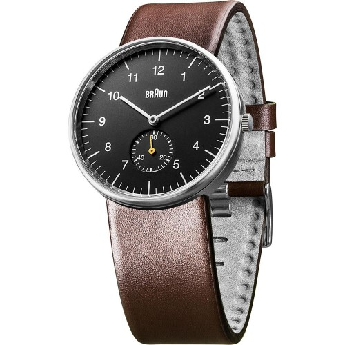 Часы Braun BN0024 Black Brown