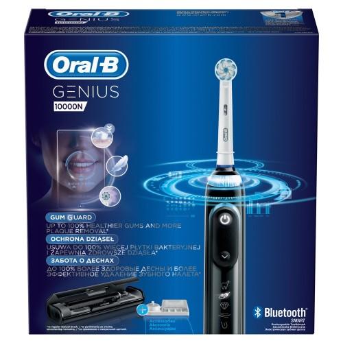 Электрическая зубная щетка Oral-B Genius 10000N Black D 701.545.6XC