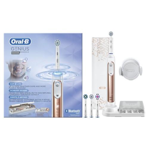Электрическая зубная щетка Oral-B Genius 10000N Rose Gold D 701.545.6XC