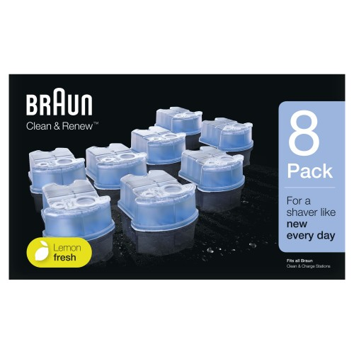 Картриджи Braun Clean&Renew для станций CCR 8