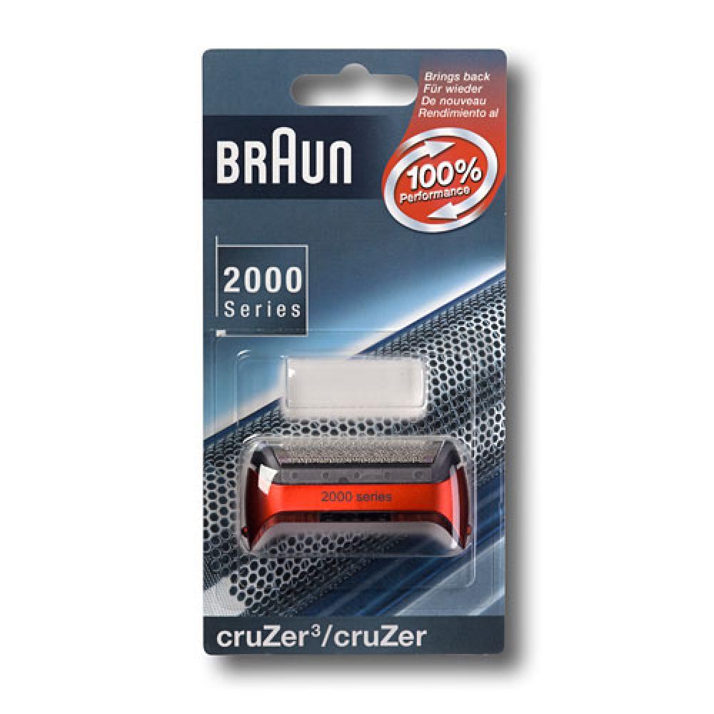 Сетка для бритвы Braun Cruzer3, red