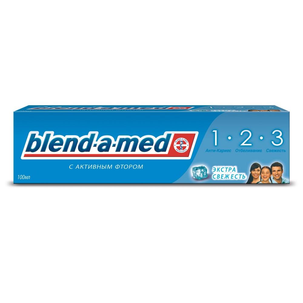 Зубная паста BLEND-A-MED 3-й эффект Экстра Свежесть 100мл