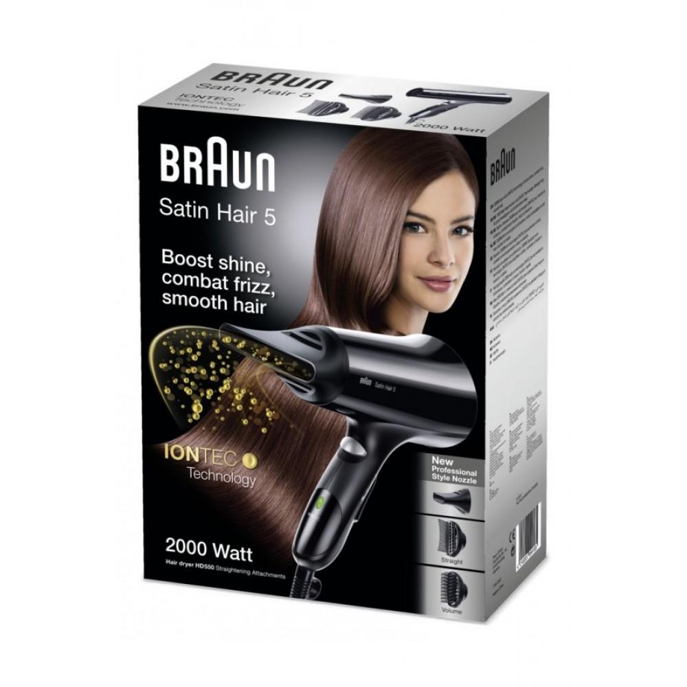 Фен Braun Satin Hair 5  IONTEC HD550
