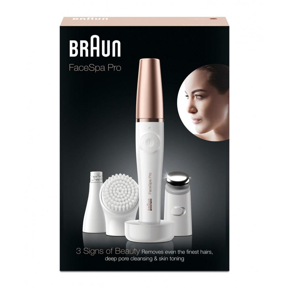 Эпилятор для лица Braun FaceSpa Pro 912