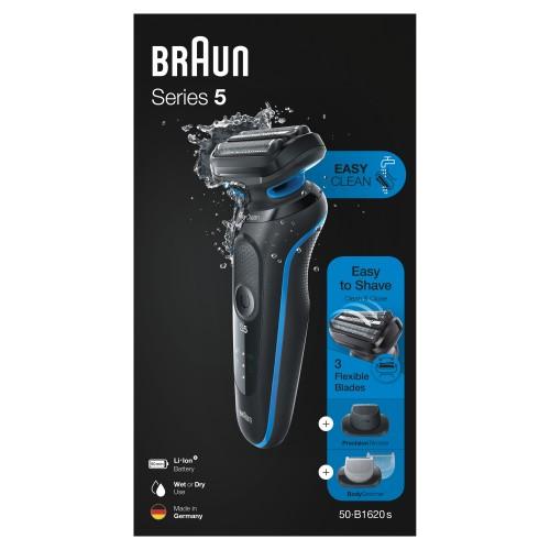 Электробритва Braun Series 5 50-B1620s Blue