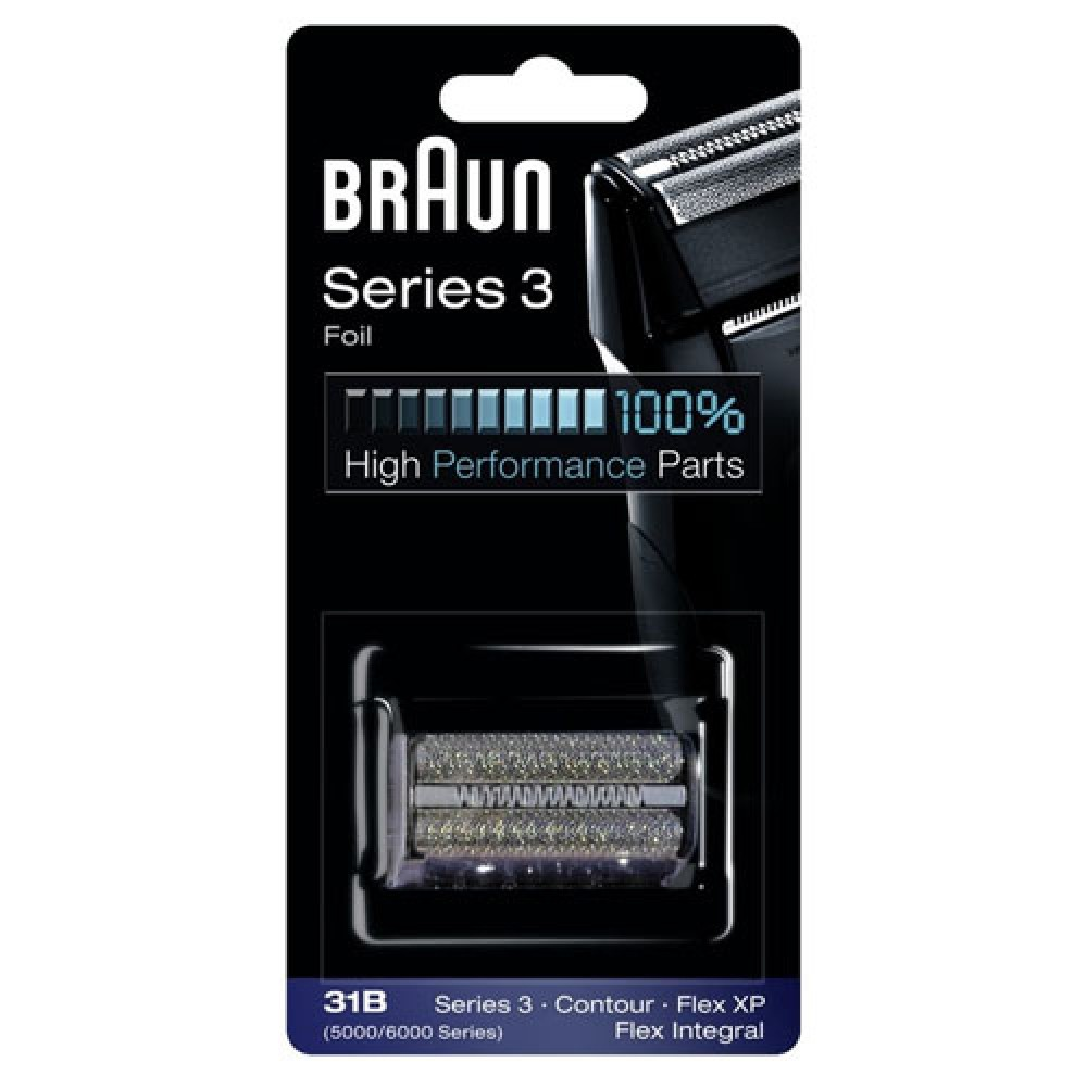 Сетка для бритвы Braun 5000/6000, black (31B)