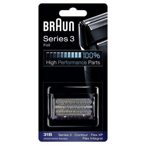 Сетка для бритвы Braun 5000/6000, black (31B)