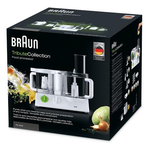 Кухонный комбайн Braun Tribute FX3030WH Белый