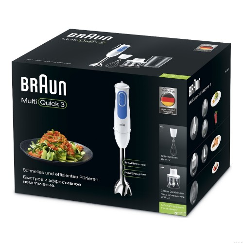 Погружной блендер Braun Multiquick 3 MQ3025 Spaghetti