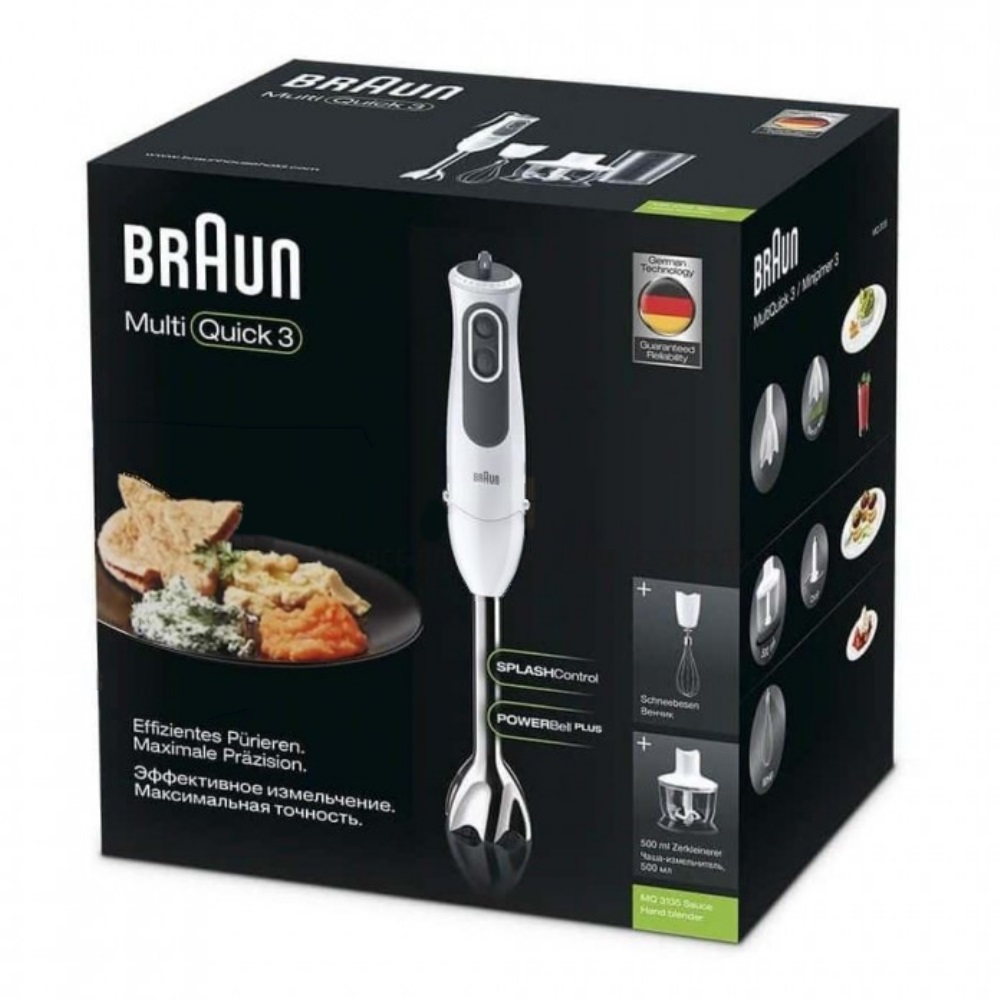 Погружной блендер Braun Multiquick 3 MQ3135 Sauce
