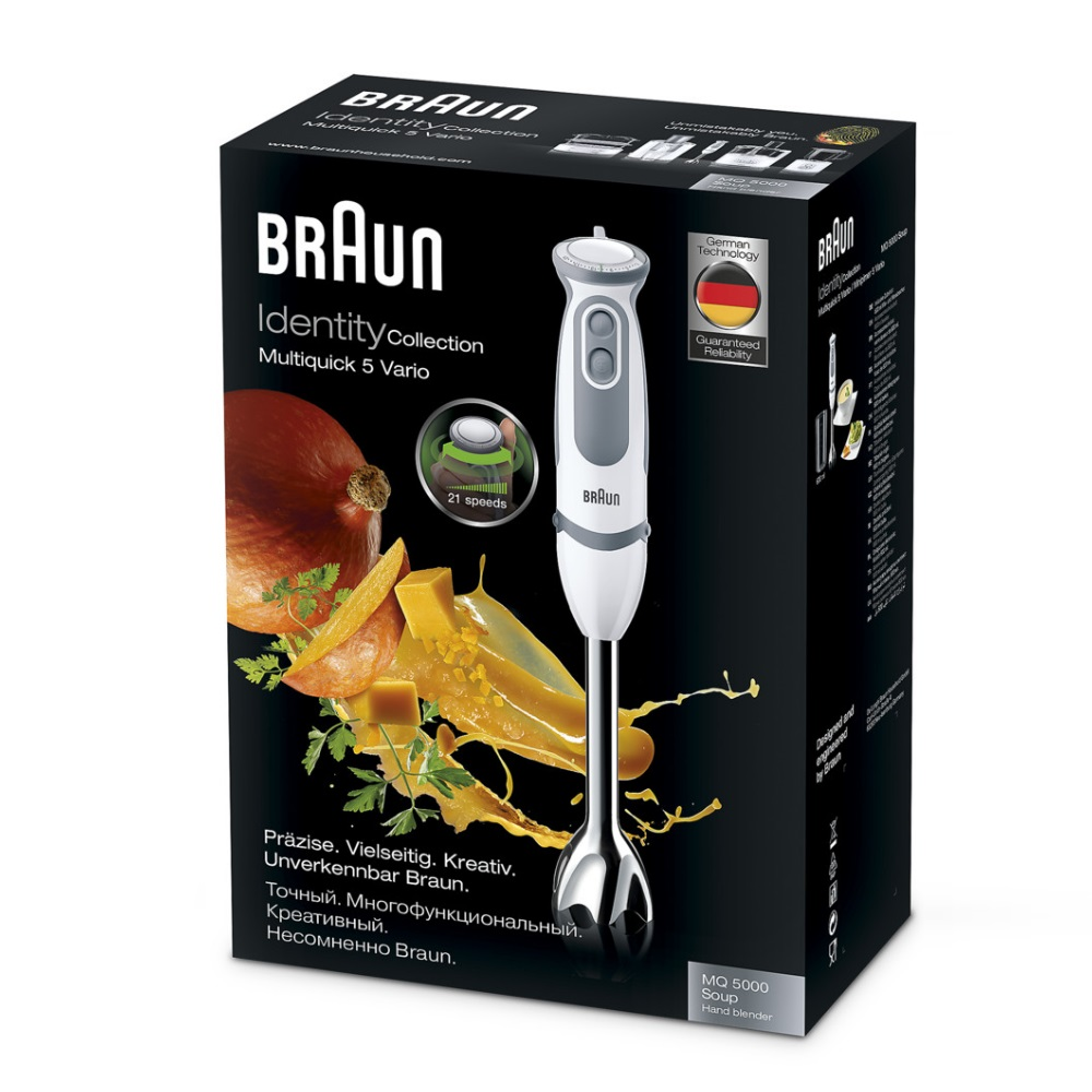 Погружной блендер Braun Multiquick 5 Vario MQ5000 Soup