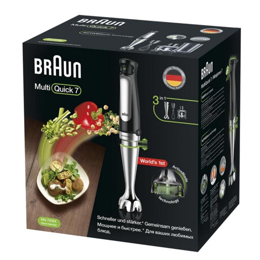 Погружной блендер Braun Multiquick 7 MQ7035X