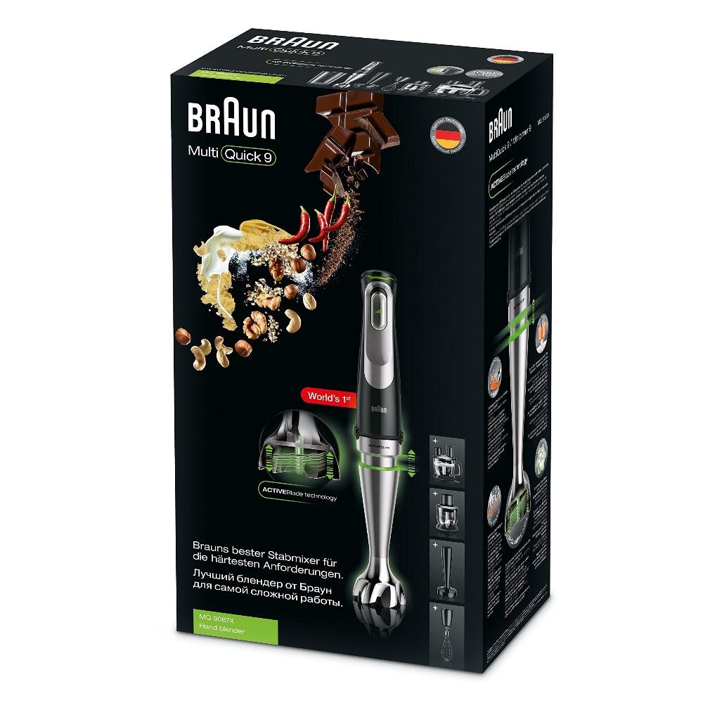 Погружной блендер Braun Multiquick 9 MQ9087X