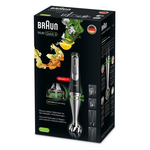 Погружной блендер Braun Multiquick 9 MQ9047X