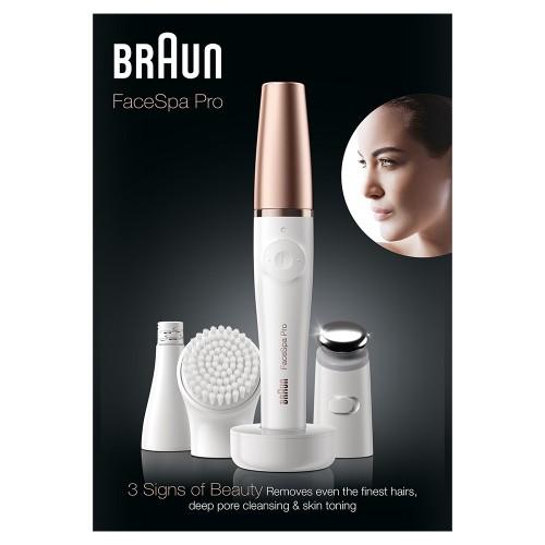Прибор для ухода за лицом  Braun FaceSpa Pro 911