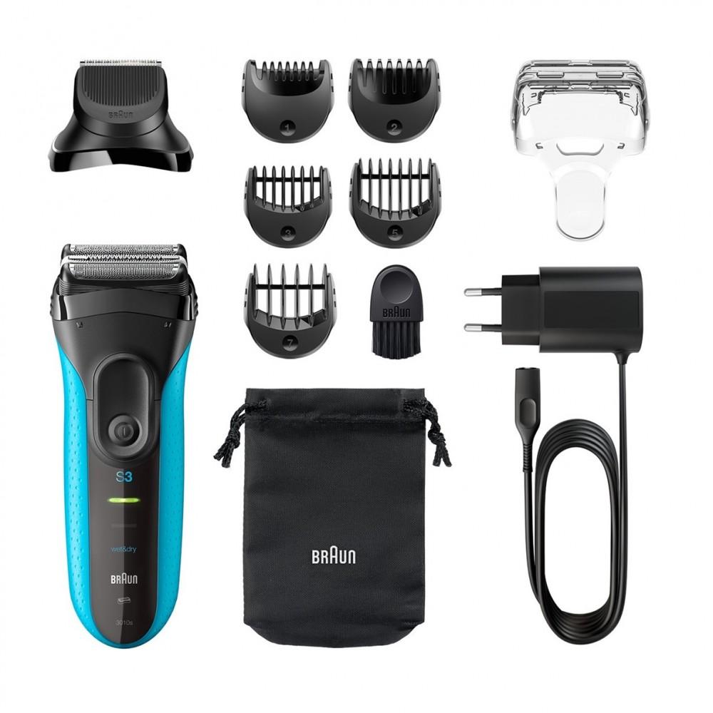 Электробритва Braun Series 3 Shave&Style 3010bt + насадка-триммер и 5 гребней