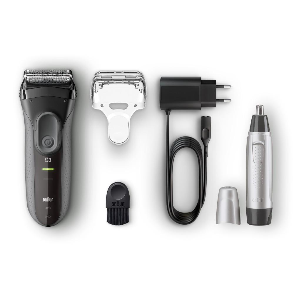 Электробритва Braun ProSkin 3 3000s + Триммер Ear&Nose EN10