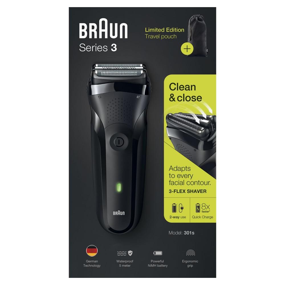Электробритва Braun Series 3 301s Black