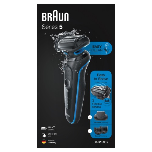 Электробритва Braun Series 5 50-B1500s Blue