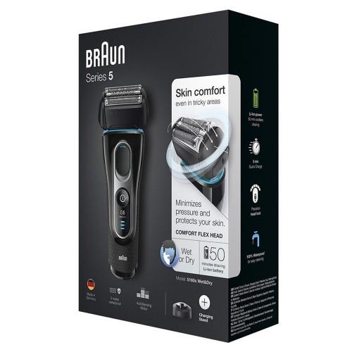 Электробритва Braun Series 5 5160s с зарядной станцией