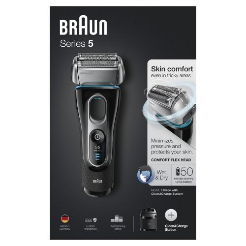 Электробритва Braun Series 5 5197cc со станцией Clean&Charge