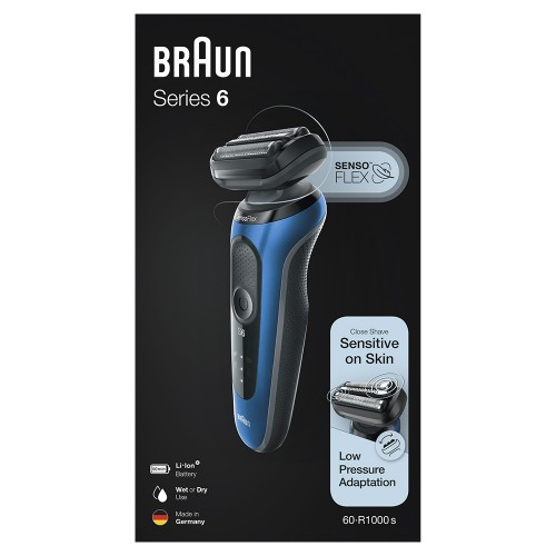 Электробритва Braun Series 6 60-B1000s Blue