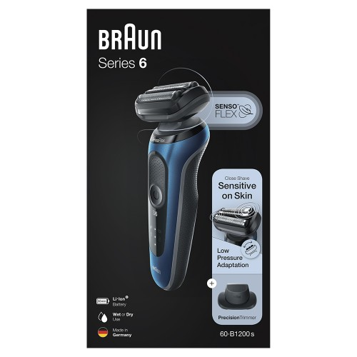 Электробритва Braun Series 6 60-B1200s Blue