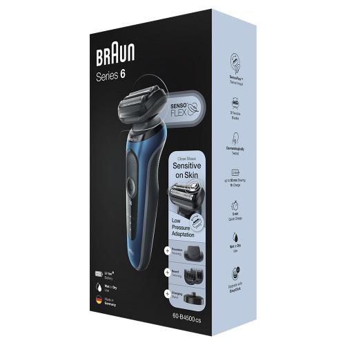 Электробритва Braun Series 6 60-B4500cs Blue