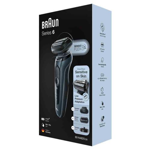 Электробритва Braun Series 6 60-N4820cs Noire