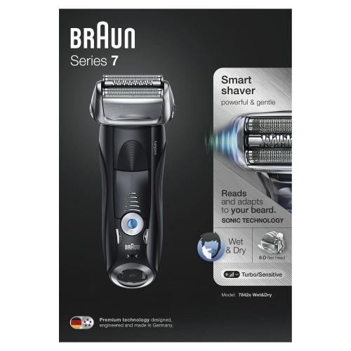 Электробритва Braun Series 7 7842s с тканевым футляром