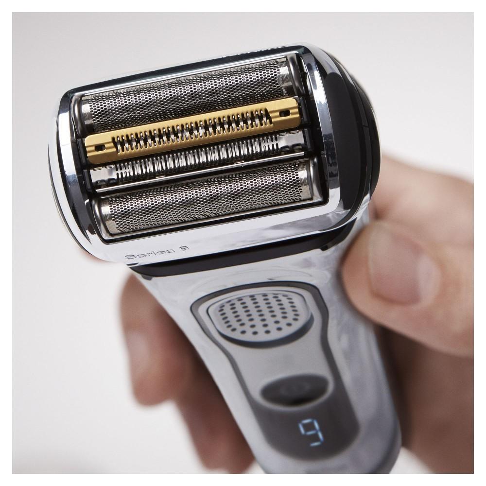 Электробритва Braun Series 9 9297cc со станцией Clean&Charge и тканевым футляром