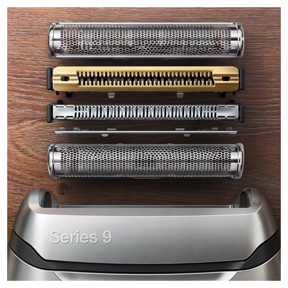 Электробритва Braun Series 9 9340s с зарядной станцией и тканевым футляром