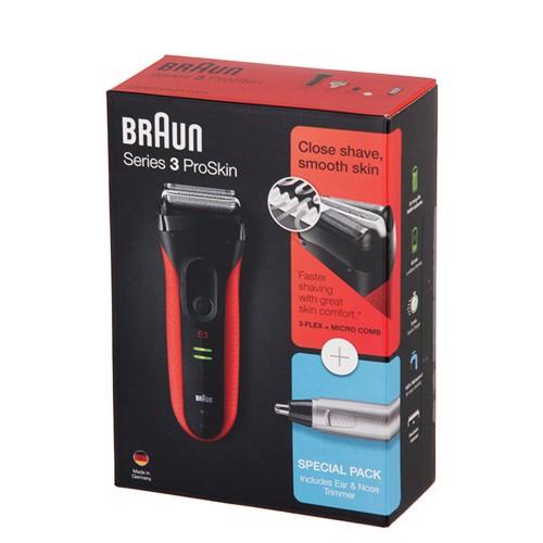 Электробритва Braun Series 3 ProSkin 3030s + Триммер Ear&Nose EN10
