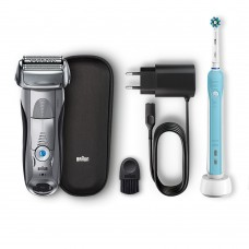 Электробритва Braun Series 7 7893s + Э/щетка Braun Oral-B PRO 500 D16.513.U Cross Action