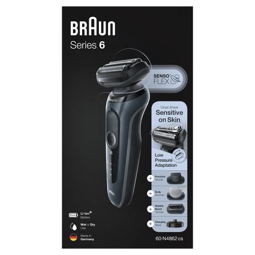 Электробритва Braun Series 6 60-N4862cs Noire