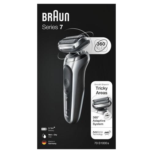 Электробритва Braun Series 7 70-S1000s Silver