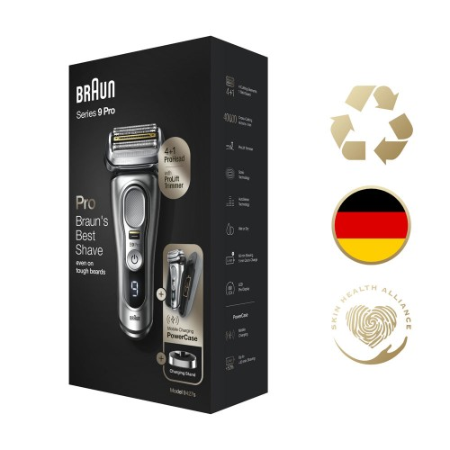 Электробритва Braun Series 9 Pro 9427s с зарядной станцией и футляром