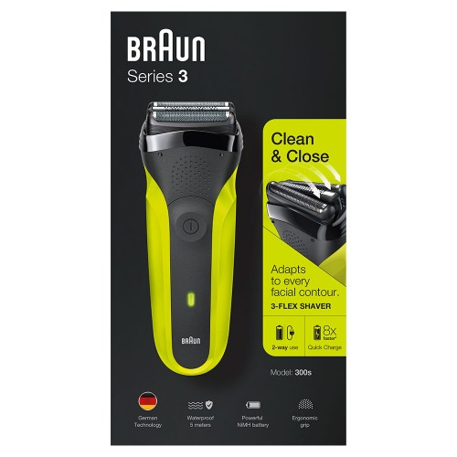 Электробритва Braun Series 3 300s Green