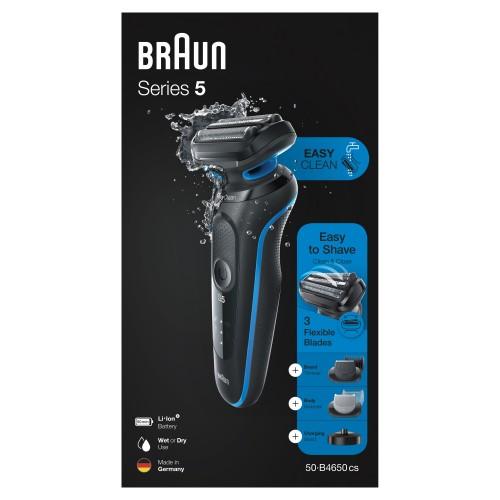 Электробритва Braun Series 5 50-B4650cs Blue