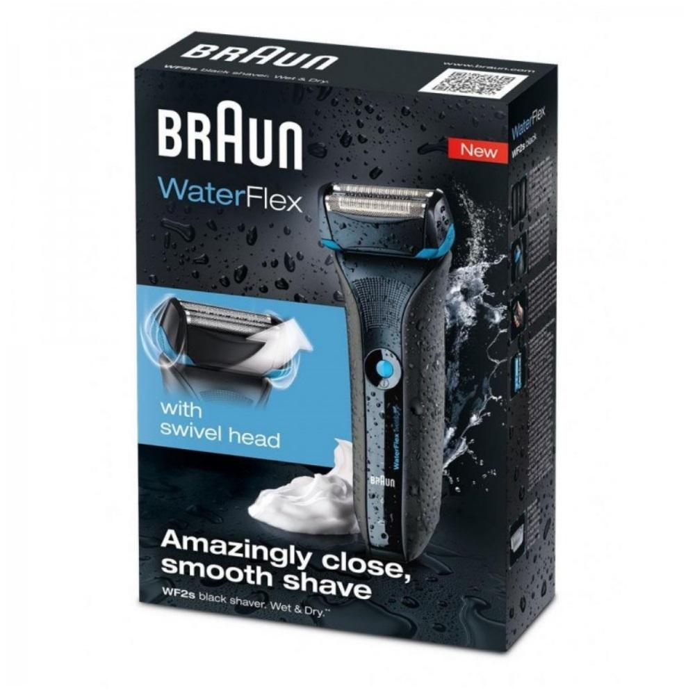 Электробритва Braun Series 5 WaterFlex WF2s Wet & Dry Черный
