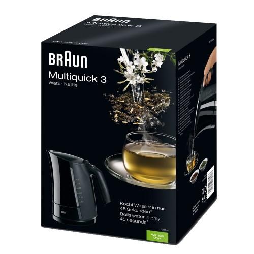 Чайник Braun Multiquick 3 WK300 черный