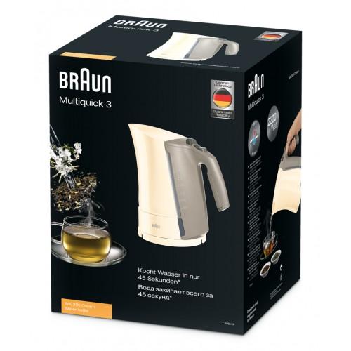 Чайник Braun Multiquick 3 WK300 кремовый