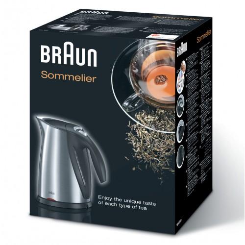 Чайник Braun Multiquick 7 WK600 стальной