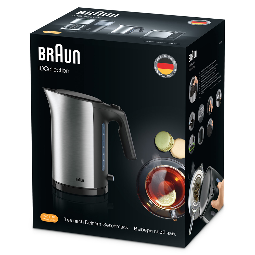 Чайник Braun ID Breakfast Collection WK 5110 Черный