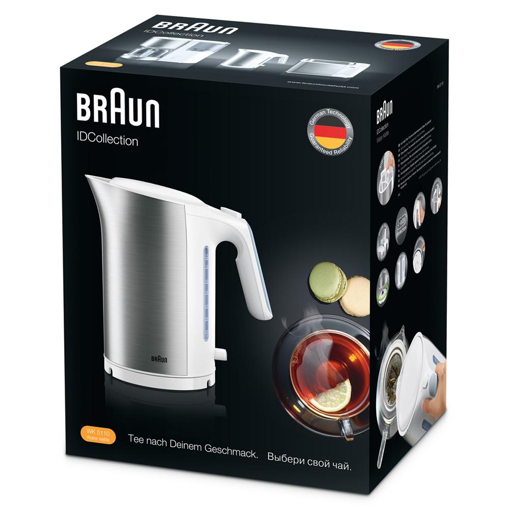 Чайник Braun ID Breakfast Collection WK5100 Белый