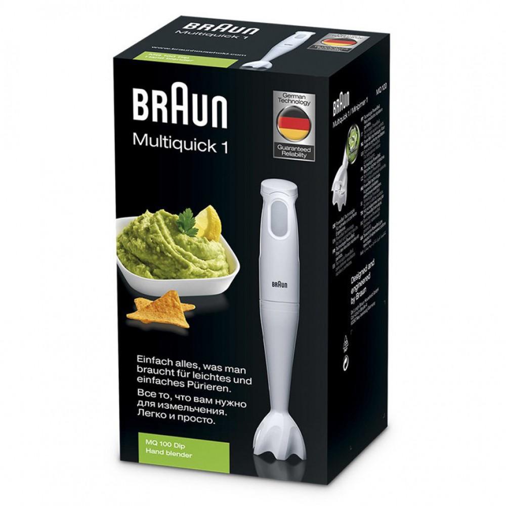 Погружной блендер Braun Multiquick 1 MQ100 Dip