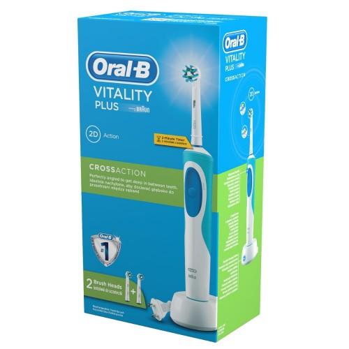 Электрическая зубная щетка Oral-B Vitality PLUS D12.523