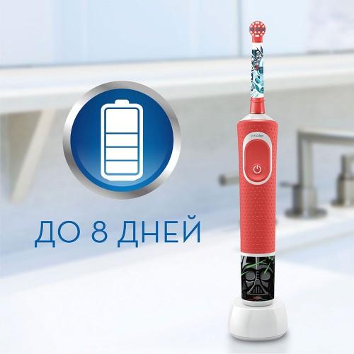 Детская электрическая зубная щетка Oral-B Vitality Kids Звездные войны D100.413.2KX