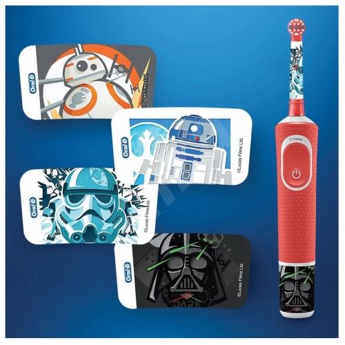 Детская электрическая зубная щетка Oral-B Vitality Kids Звездные войны D100.413.2K