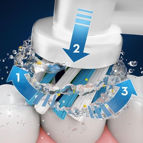 Набор электрических зубных щеток Oral-B Family Pack (Professional Care 500 + Vitality Kids D12.513K Cars)